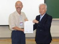 「日本雪氷学会および日本雪工学会の全国大会の合同開催に関する協定書」の更新について