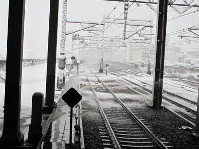 スプリンクラーによる線路融雪_1